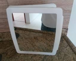 Armário de banheiro plástico c/ espelho