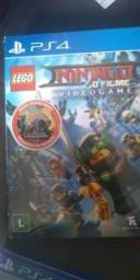 Box lego ninja go+filme lacrado ps4