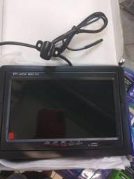 Monitor 7 polegadas com câmera de ré
