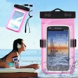 Bolsa impermeável para celular