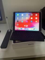 IPad Pro 10.5 256gb (Wifi + 4G) Cinza + Smart Keyboard + Apple Pencil + Capa Otterbox