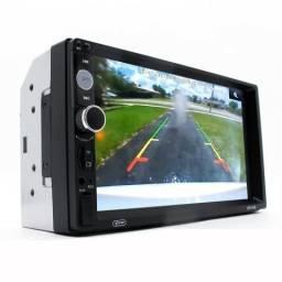 Central Multimídia Knup Kp-c19a 7p Espelha Android Bluetooth (entrega grátis)