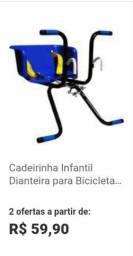 Cadeira parra bicicleta 45$