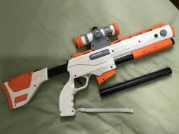 Cabela's arma para ps3 com defeito comprar usado  Rio de Janeiro
