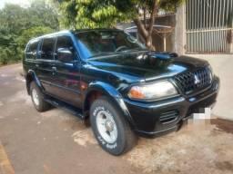 Vendo pajero sport SE/ c/ banco de couro HPE 2.8 4x4 diesel aut - 2003