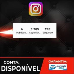 Conta Instagram 3k de seguidores