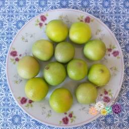 Limão Galego Decorativo em Biscuit
