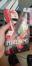 Vendo mangás Hellsing volume 1 e 3