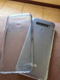 Vendo LG K41S com 2 meses de uso