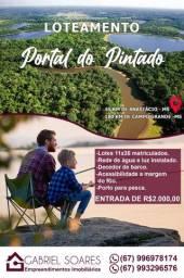 Pesqueiro loteamento portal do pintado águas do Rio Miranda km21