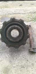 Título do anúncio: Cubo roda traseira Mercedes 915 - 2007