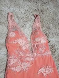 Vestido de madrinha Coral tam. M