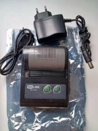 Impressora térmica Portátil Bluetooth