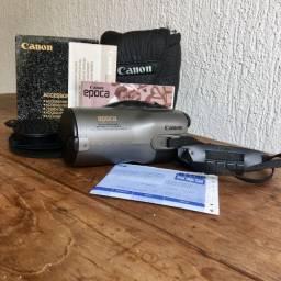 Câmera Fotográfica Canon Época 35 mm Auto Zoom Analógica c/ N Fiscal e Manual