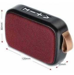 Entrega Grátis - Radio E Caixa De Som Portátil Com Bluetooth Mk-138 Cmik - 1
