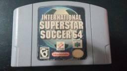 Cartucho Nintendo 64 International Superstar Soccer 64