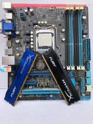Título do anúncio: Kit GAMER I7 3770 + Asus B75M + 16gb RAM