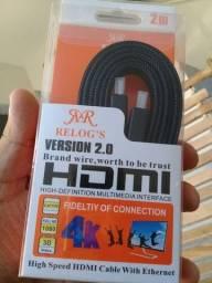 Cabo HDMI - Reforçado - 2.0 - 4K