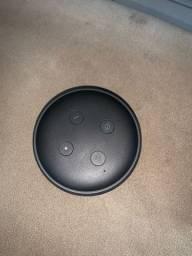 vendo echo dot (alexa), usada uma única vez