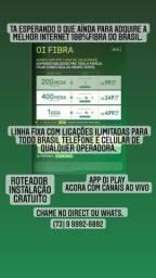 Título do anúncio: Internet 100% fibra óptica