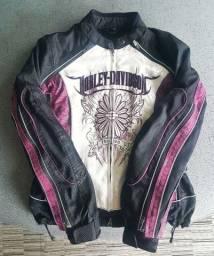 Jaqueta Harley Davidson Feminina 2 Em 1 - P