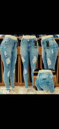 Calças e short jeans
