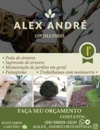 Título do anúncio: Cortes, podas e jardinagem em geral