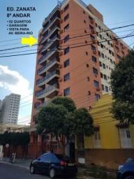 Título do anúncio: Apartamento em Três Rios/RJ, 2 quartos, sacada, 2 banheiros, área de serviço e garagem.