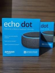 Título do anúncio: Echo Dot 3ª Geração Smart Speaker com Alexa - Cor Preta