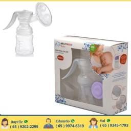 Bomba Extrator de Leite Materno Manual Multibaby.