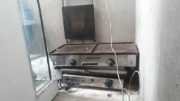 Título do anúncio: Balcão estufa repositor e chapa elétrica e a gás