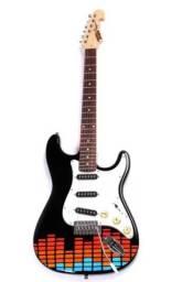 Título do anúncio: PROMOCÃO Guitarra Tagima edição especial + Pedal Angry Charlie da Zeneffects