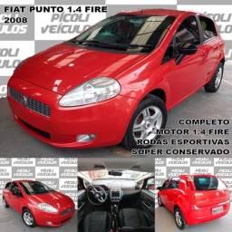 Título do anúncio: Fiat PUNTO ELX 1.4 8v(Flex) 4P