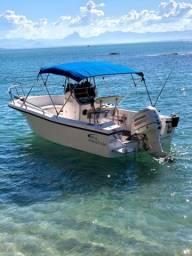 Título do anúncio: Lancha Fishing 220 com motor jhonson 175hp