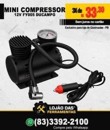 Título do anúncio: Compressor de ar portátil Ducampo