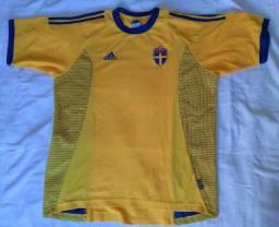 Camisa Suécia 2002