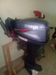 Título do anúncio: Motor de poupa 15 HP Yamaha