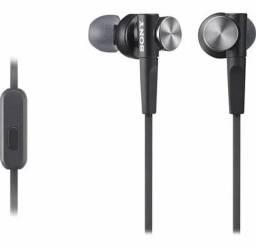 Título do anúncio: Fone de Ouvido Sony Mdr-Xb50Ap Graves Impressionantes Novo Original