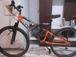 Bike com amortecedor