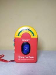Walkman vintage antiguidade my first Sony WM-F3010 retro