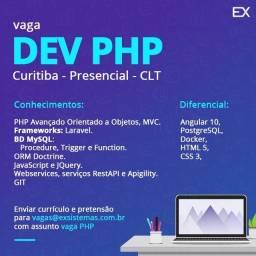 Título do anúncio: Vaga de emprego TI PHP