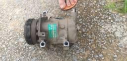 Compressor do ar condicionado Pegeout,  renault 1.0 16v 2000 em diante