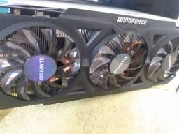 AMD R9 270x OC 4Gb 256bit gigabyte / passo cartão