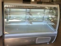 Título do anúncio: Balcão Freezer Geladeira Gelopar Expositor Refrigerado Seco Gepv Vitalis 1,40m Inox.