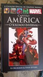 Graphic Novels Marvel cada R$40