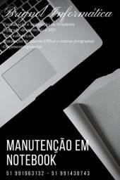 Título do anúncio: Manutenção em Computadores e Notebooks