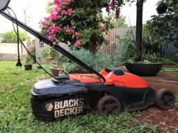 Cortador de grama black Decker com recolhedor