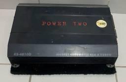 Módulo digital roadstar power two 4800w 6x s/ juros