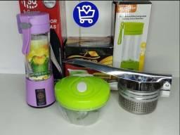 Título do anúncio: KIT COZINHA com Processador de Alimentos, Mini liquidificador R$160,00(Entrega Gratis)