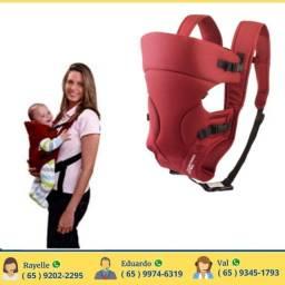 Canguru para Bebê 3,5KG a 15KG Multikids Baby Safe Vinho
